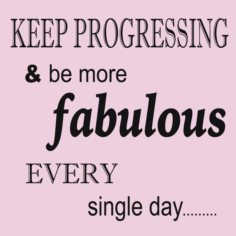 Keep Progressing