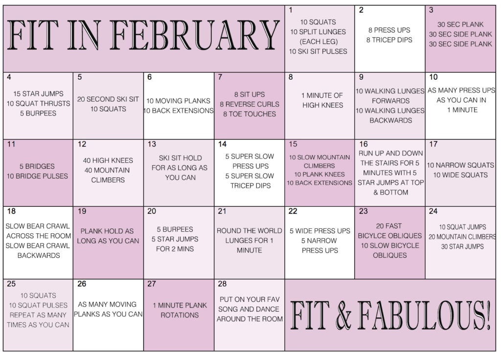 Fit-February-challenge